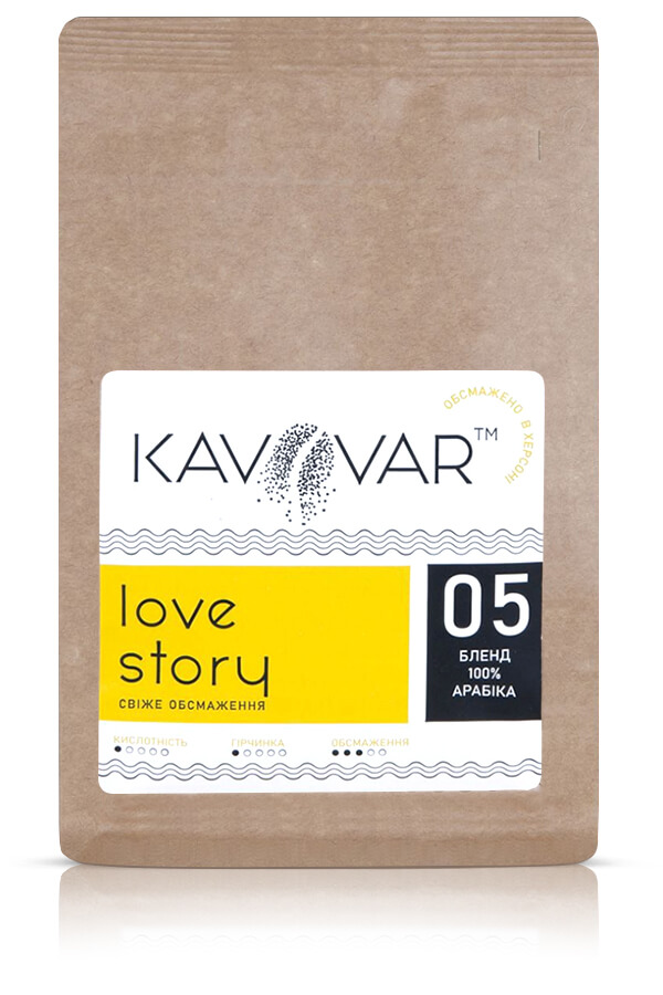 Кофе в зернах бленд Love Story