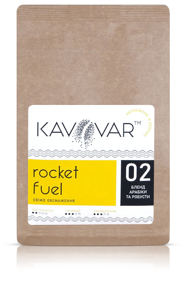 Кофе в зернах бленд Rocket Fuel
