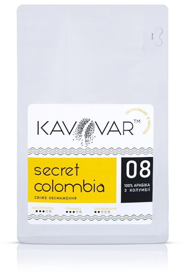 Кофе в зернах Secret Colombia
