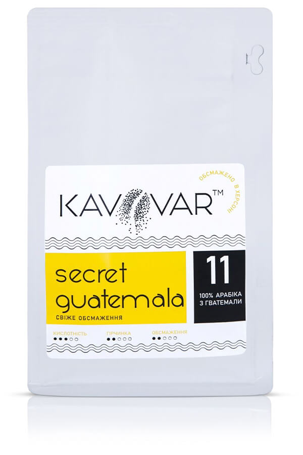 Кофе в зернах Secret Guatemala